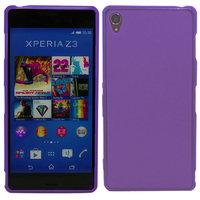 Фиолетовый силиконовый чехол для Sony Xperia Z3