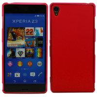 Красный силиконовый чехол для Sony Xperia Z3