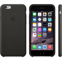 """Кожаный чехол для iPhone 6 / 6s (4.7"""") черный - iPhone 6 / 6s Leather Case - Black"""