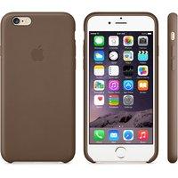 "Кожаный чехол для iPhone 6 / 6s (4.7"") коричневый - iPhone 6 / 6s Leather Case - Brown"