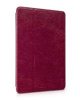 Красный кожаный чехол HOCO для iPad Air 2 - HOCO Crystal series Leather Case Red