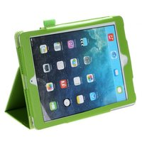 Зеленый чехол книга Mobi Cover для iPad Air 2