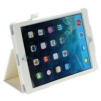 Белый чехол книга Mobi Cover Smart для iPad Air 2