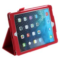 Красный чехол книга Mobi Cover Smart для iPad Air 2