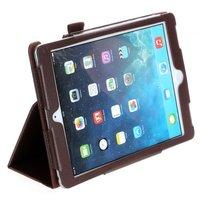 Коричневый чехол книга Mobi Cover Smart для iPad Air 2