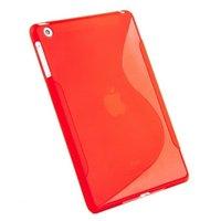 Силиконовый чехол для iPad mini 3 / 2 / 1 красный