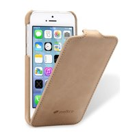 Кожаный чехол Melkco для iPhone 5C Leather Case Jacka Type (Vintage Khaki)