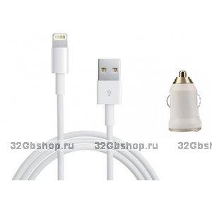 Автомобильное зарядное устройство для iPhone 5 / 5s / 6 / 6s / 6 Plus, iPhone 7 / 8 / Plus, iPhone X / Xr / Xs / 11