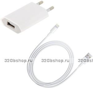 Сетевое зарядное устройство для iPhone 5 / 5s / 6s / 6, iPhone 7 / 8 / plus, iPhone X / Xs / Xr / 11