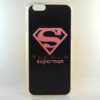 "Чехол пластиковый для iPhone 6 / 6s (4.7"") накладка супермен"