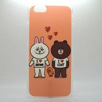 """Чехол пластиковый для iPhone 6 / 6s (4.7"""") накладка заяц, медведь и уточка"""