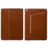 Кожаный чехол HOCO Crystal Leather Smart Case для iPad Air 2 коричневый