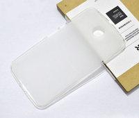 Силиконовый чехол для Goole Nexus 6 матовый белый