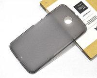 Силиконовый чехол для Goole Nexus 6 матовый серый