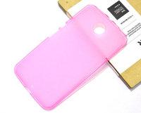 Силиконовый чехол для Goole Nexus 6 матовый розовый