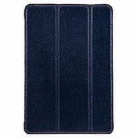 Синий кожаный чехол Melkco для iPad mini 3 / mini 2 Retina/ mini - Premium Leather Slimme Case Blue