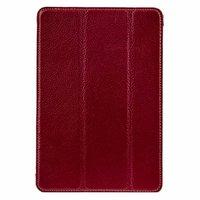 Красный кожаный чехол Melkco для iPad mini 3 / mini 2 Retina/ mini - Premium Leather Slimme Case Red