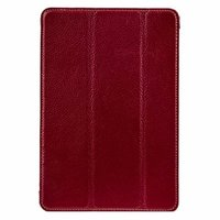 Красный кожаный чехол Melkco для iPad mini 3 / mini 2 Retina/ mini - Premium Leather Slimme Case Red