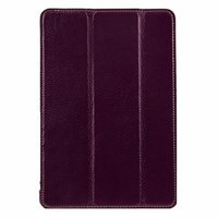 Фиолетовый кожаный чехол Melkco для iPad mini 3 / mini 2 Retina/ mini - Premium Leather Slimme Case Purple