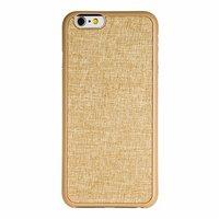 """Накладка бампер с задней вставкой золотой Ozaki O!coat 0.3 + Canvas case для iPhone 6 / 6s 4.7"""" – Gold"""