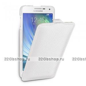 Белый чехол Art Case для Samsung Galaxy Alpha SM-G850 - White