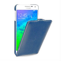 Синий чехол Art Case для Samsung Galaxy Alpha SM-G850 - Blue