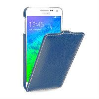 Синий чехол Art Case для Samsung Galaxy Alpha SM-G850 - Blue