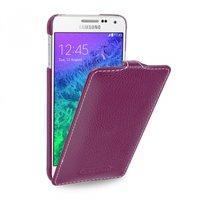 Фиолетовый чехол Art Case для Samsung Galaxy Alpha SM-G850 - Purple