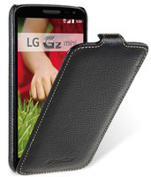 Черный кожаный чехол книга Melkco для LG G2 mini D618 - Melkco Premium Leather Case Jacka Type Black
