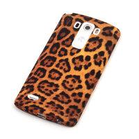Силиконовый чехол для с рисунком LG G3 D855 леопард