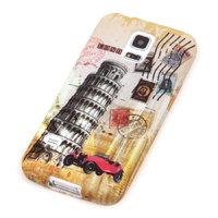 Чехол силиконовый для Samsung Galaxy S5 mini Пизанская башня
