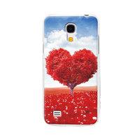 Пластиковый чехол для Samsung Galaxy S4 Mini сердце и облака