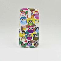 Пластиковый чехол для Samsung Galaxy S4 Mini Совы