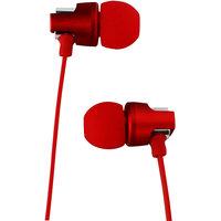 Наушники проводные Celebrat C8 стереогарнитуга с микрофоном (1.2 м) Красный