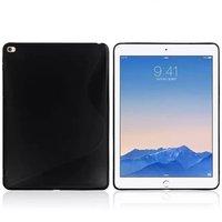 Черный силиконовый чехол для iPad Air 2 - S Line Black Silicone Case