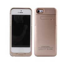 Чехол аккумулятор для iPhone 5s / 5 / SE золотой - Power Bank Case 3200mAh