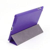 Кожаный чехол Goethe для iPad 4 / 3 / 2 фиолетовый