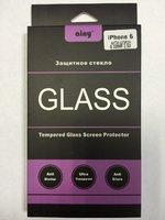 Защитное стекло Ainy для iPhone 6 / 6s Анти-шпион 0.33 мм