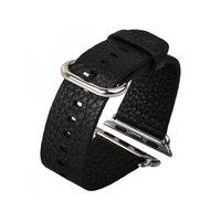 Кожаный ремешок COTEetCI для Apple Watch 38мм черный