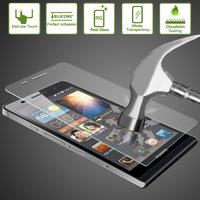 Зеркальное защитное стекло для Apple iPhone 5s / SE / 5 овальный край, 0.33 мм