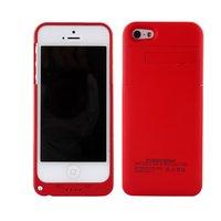 Чехол батарея аккумулятор для iPhone 5s / 5 / SE красный - Power Bank Case 3200mAh