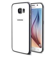 Черный алюминиевый бампер для Samsung Galaxy S6