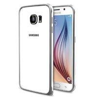 Серебряный алюминиевый бампер для Samsung Galaxy S6