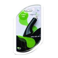 Автомобильное зарядное устройство для телефона LG KG800  Vertex