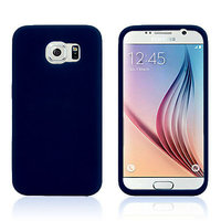 Синий силиконовый чехол для Samsung Galaxy S6