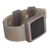 Силиконовый чехол браслет для iPod nano 6  серый