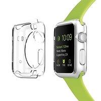 Прозрачный силиконовый чехол для Apple Watch 38mm