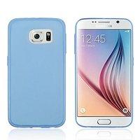 Голубой силиконовый чехол для Samsung Galaxy S6