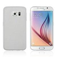 Белый силиконовый чехол для Samsung Galaxy S6 Edge