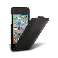 Кожаный чехол книжка Melkco для iPod Touch 4 Leather Case Jacka Type (Black LC)